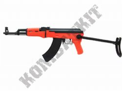 SRC SR47B Sportline AK47B Electric AEG Airsoft BB Machine Gun Black and Orange